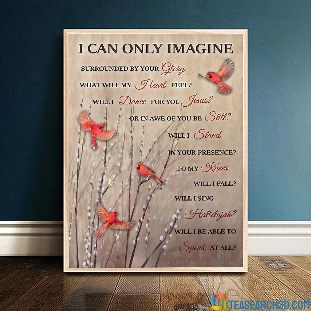 Cardinal I can only imagine poster