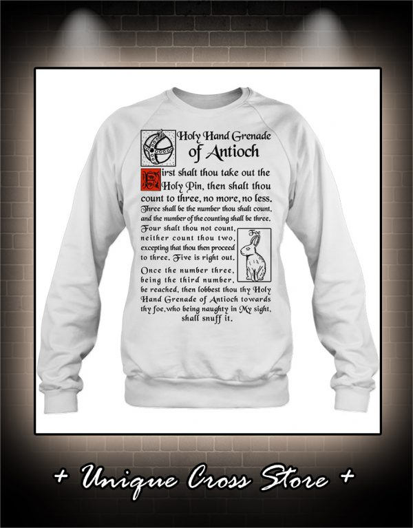 Holy Hand Grenade Of Antioch sweater