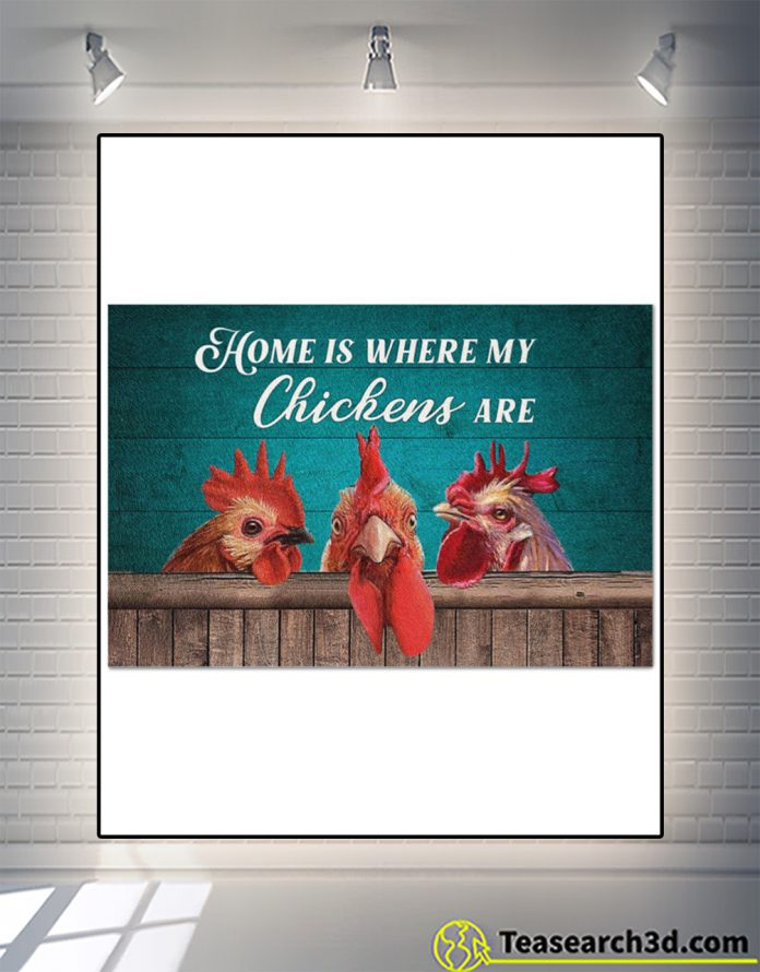 Home is where my chickens are doormat