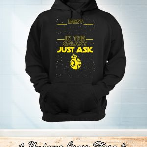 Best papa in the galaxy just ask hoodie