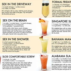 Guide all star cocktail poster 1