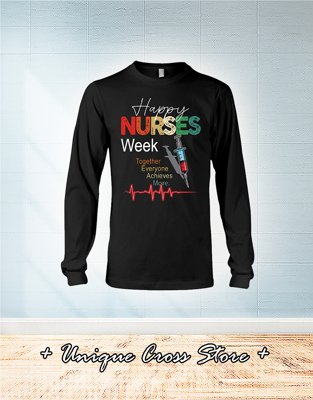 Happy Nurses Weed Together Everyone Achieves More long sleeve