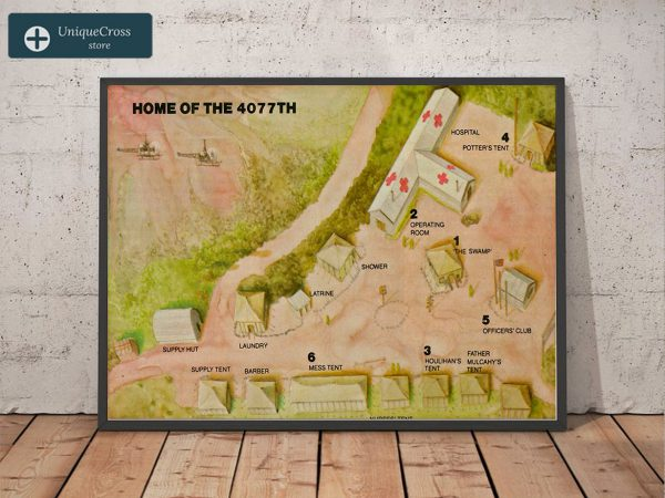 Home of the 4077th poster A1
