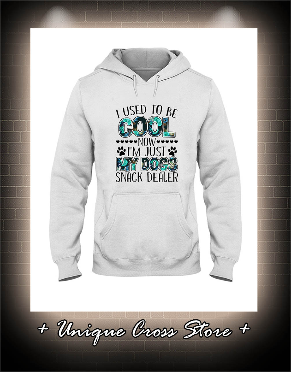 I Used To Be Cool Now I'm Just My Dogs Snack Dealer hoodie