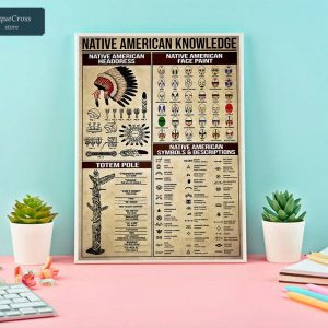 Native american knowledge poster A1