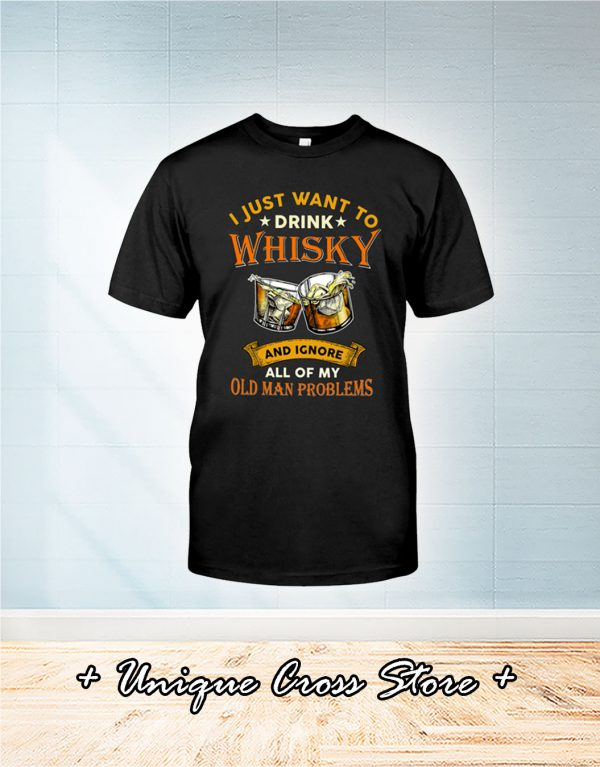 Old Men And Whisky Classic T-Shirt