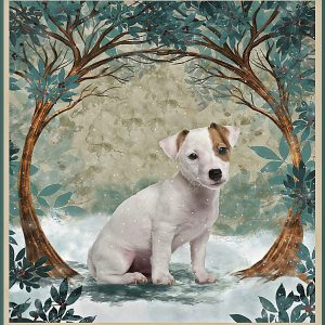 Once upon a time I picked up a jack russell puppy and the rest is history poster