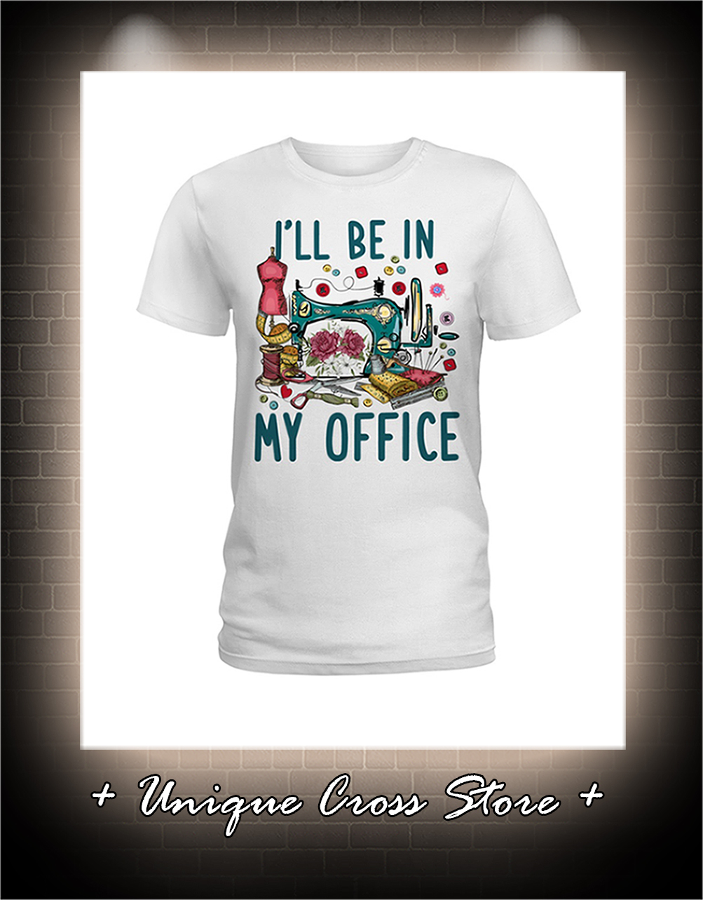 Sewing I'll be in my office lady shirt