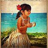 Some Girls Are Just Born With Aloha Spirit In Their Souls Poster