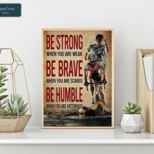 Triathlon be strong when you are weak poster A2