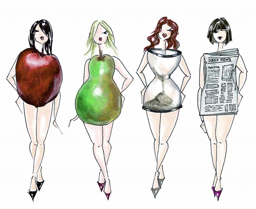 You need to know your body shape well