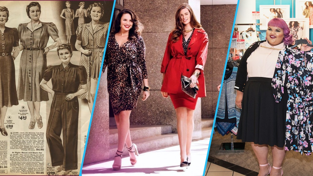 The chubby body used to be popular for 400 years, but then it was met with mocking glances even though most of the women were overweight. In recent years, plus size fashion has grown strongly to combat body stigma.