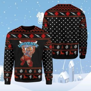 He-man master of the universe ugly sweaterHe-man master of the universe ugly sweater