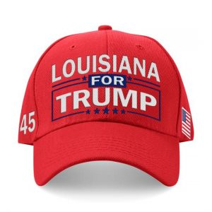 Louisiana For Trump Embroidered Hat