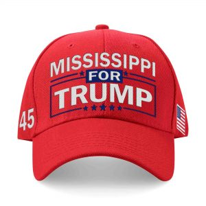 Mississippi For Trump Embroidered Hat