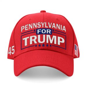 Pennsylvania For Trump Embroidered Hat