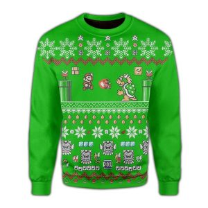 Super mario ugly sweater