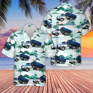 Waste Connections Of Canada Roll Off Dumpster Hawaiian ShirtWaste Connections Of Canada Roll Off Dumpster Hawaiian Shirt