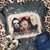 Horror movies the boys of fall bleached shirt